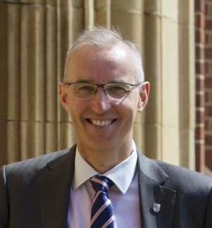 Dr Mark Fenton, Chief Master of King Edward's School