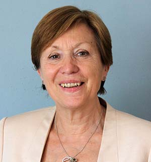 Mrs L. Johnson, Headteacher of King Edward VI Camp Hill School for Girls