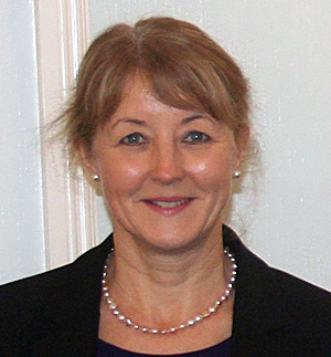 Mrs A. Clark, Principal of King Edward VI High School for Girls