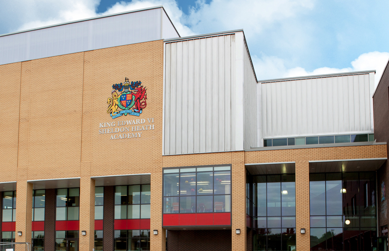 Image of King Edward VI Sheldon Heath Academy