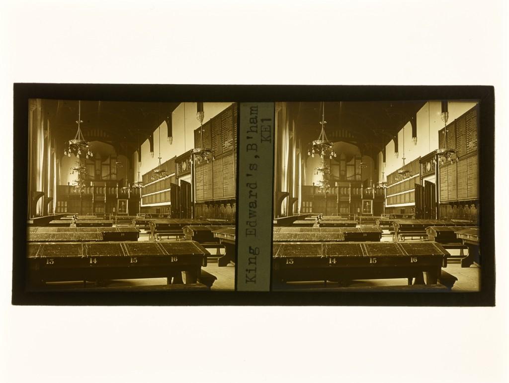 K.E. Archive Stereograph Slides Box 1 KE1