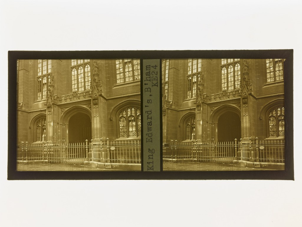 K.E. Archive Stereograph Slides Box 1 KE24